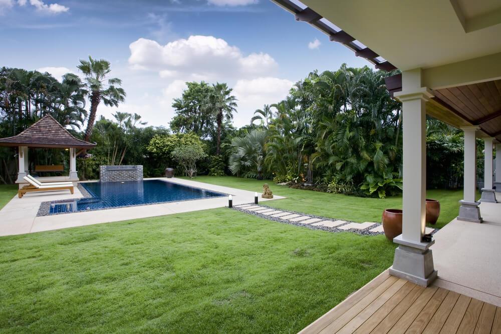 Tuin Laten Aanleggen : Tips voor het aanleggen van een zwembad in je tuin tuinkenners